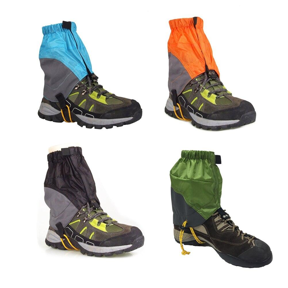 1 Pair Outdoor Waterproof Ankle Walking Snow Gaiters Gaiters For Hiking Camping