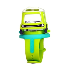 Alloy Toy Car Mini Q Version Car Bus Children Watch Interact