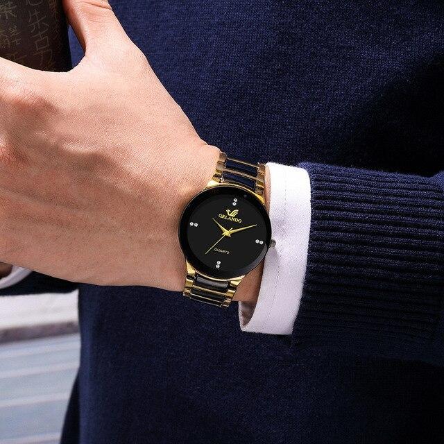 Quartz Watch Relogio Masculino Casual Business Wristwatch  4