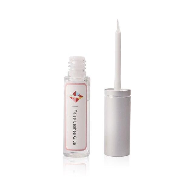 Nouvelle colle à cils forte 7ml colle à cils sans odeur colle à cils perm transparent super stick maquillage imperméable longue durée