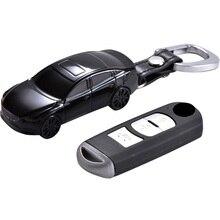 Auto Modell Form Auto Schlüssel Fall Schlüssel Abdeckung Für Mazda 3 BM BN 6 GH GJ GL CX 3 DK CX 4 GK CX 5 KE GH KF CX 8 KG MX 5 IV Targa