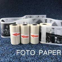57x30 мм полупрозрачная термопечать рулон бумаги для бумаги ang фото принтер