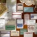 Ретро этикетка декоративные наклейки Скрапбукинг наклейка на спичечный коробок хлопья стационарный альбом офисные аксессуары товары для ...