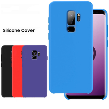 Case for SAMSUNG S9 Case Soft Silicone Case for Samsung Galaxy S8 S9 S10 5G Plus Note 8 9 10 Plus 10+ 5G Case Cover
