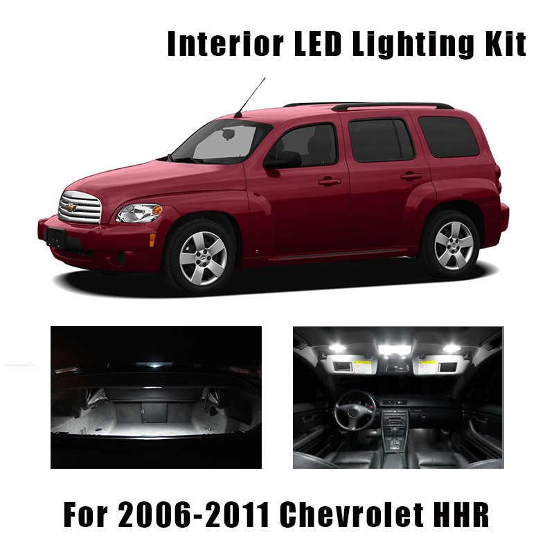 11pcs White Led Interior Light Map Dome Bulbs Kit Fit For 2006