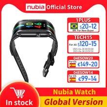 100% оригинальная глобальная версия Nubia часы 4,01 ''amoled Складная Snapdragon 8909W 1 ГБ 8 ГБ сотовый телевон, Nubia часы-телефон