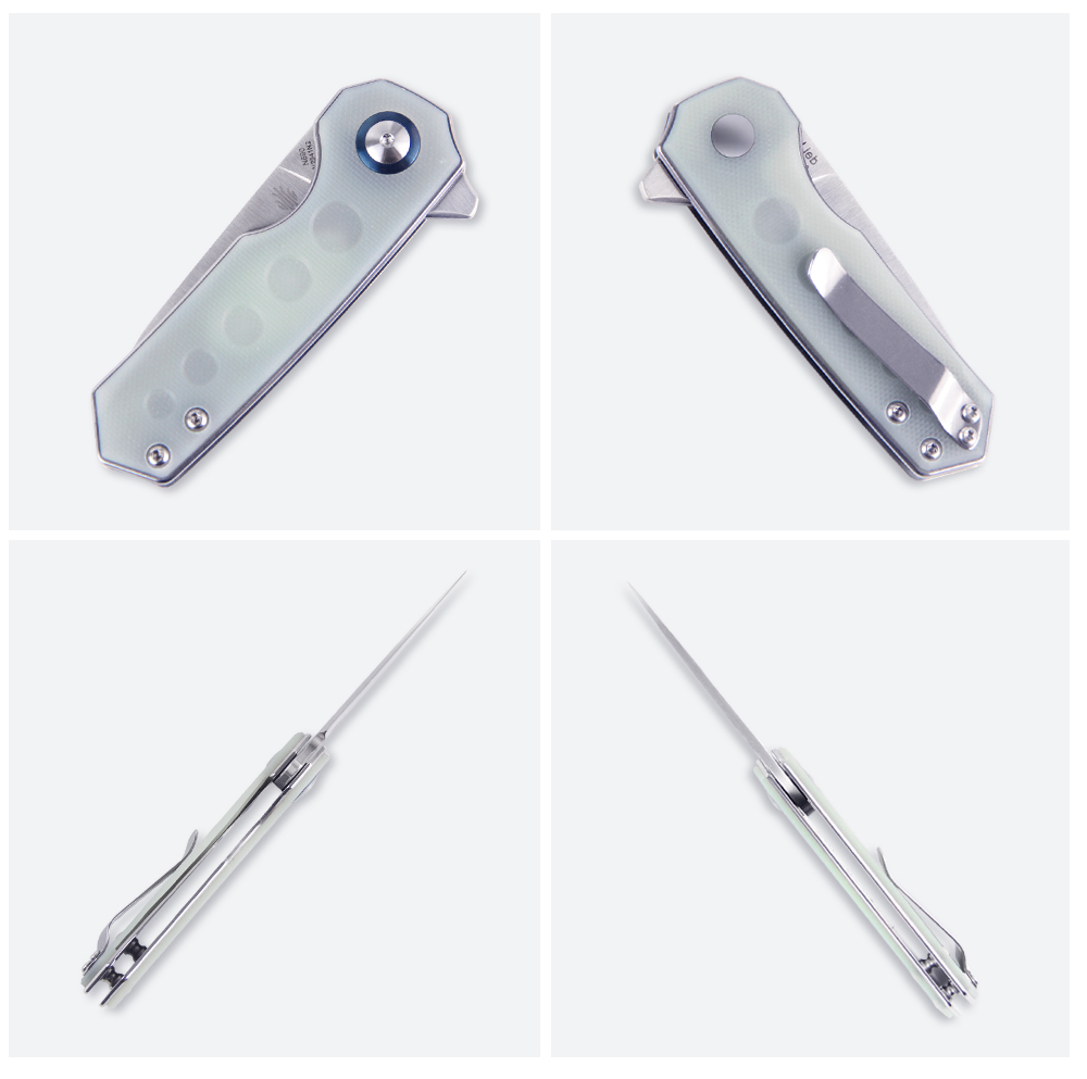 azo 2.4 polegada lâmina faca tático para acampamento ao ar livre