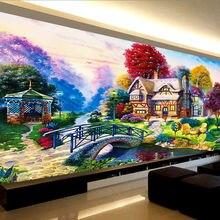 Набор для алмазной живописи Алмазная мозаика 5d с мотивом деревенского