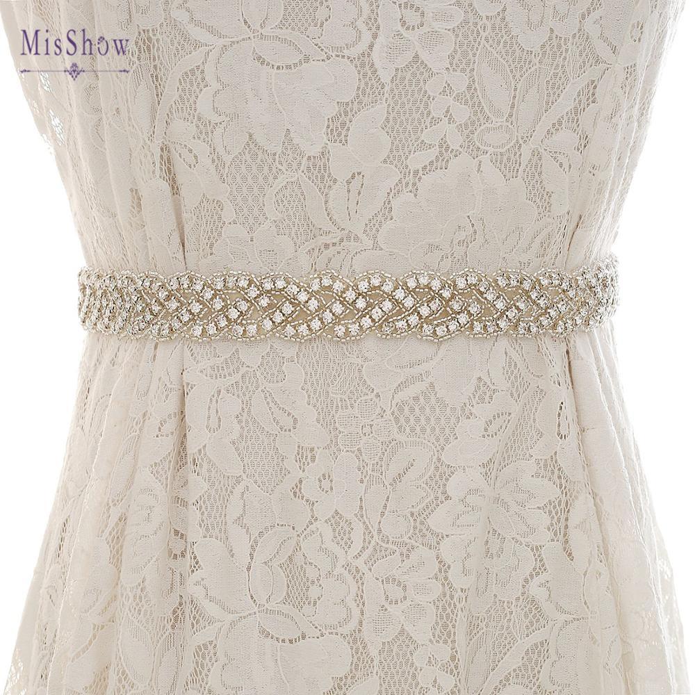 In Stock New Crystal Wedding Belts Real Samples Rhinestone Belt Bridal Wedding Accessories Handmade Wedding Girdle Bridal Belt