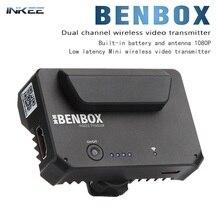 INKEE Benbox מיני וידאו משדר אלחוטי 2.4G/5G מכשיר וידאו תמונה משדר עבור DSLR/IOS iPhone/iPad/אנדרואיד טלפון