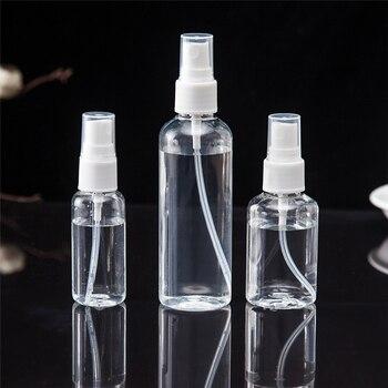 30 мл 50 мл 100 мл многоразовая мини парфюмерная пустая бутылочка с распылителем косметические контейнеры пластмассовый распылитель портативная дорожная парфюмерная бутылка