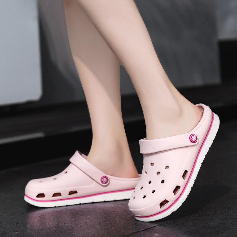 Crocse Crocks hommes piscine sandales été en plein air CholasBeach chaussures hommes sans lacet jardin sabots décontracté douche d'eau littéride Crock