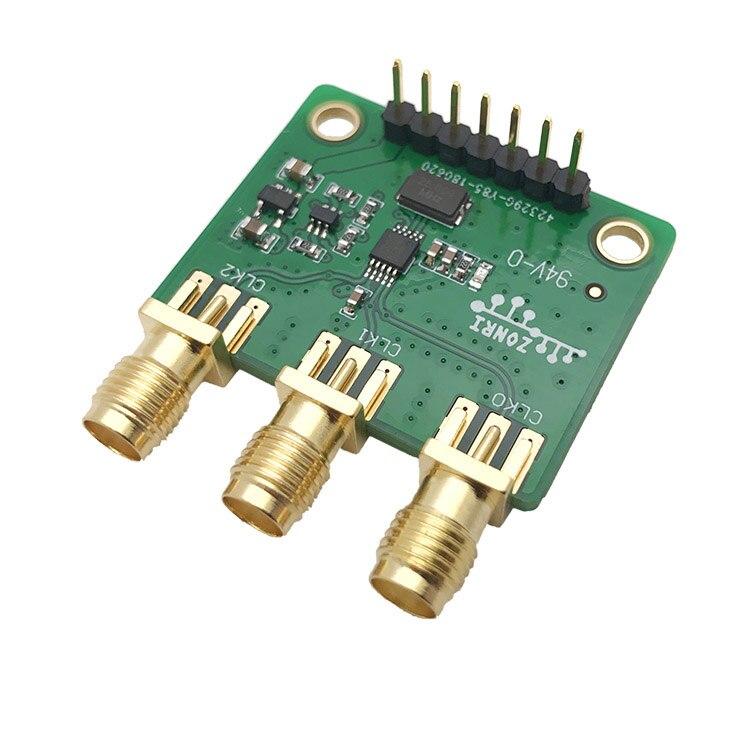 3-канальный генератор сигналов Si5351A 8 кГц-160 МГц (4-слойная печатная плата)