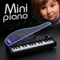 28 Keys Mini Electric Piano Toys USB Speaker Intelligent Sensor Night Light Music Keyboard For Kids Musical Instrument Toy Gift