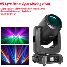 DHL 2016 Hot Beam Spot Moving Head Light 260W 10R Sharpy Robe Wash Gobo Stage Effect Lights DJ Disco DMX Professional Projector 10r 280w beam spot wash 10r sharpy moving head beam spot wash 280w rgb 3in1 moving head beam spot light