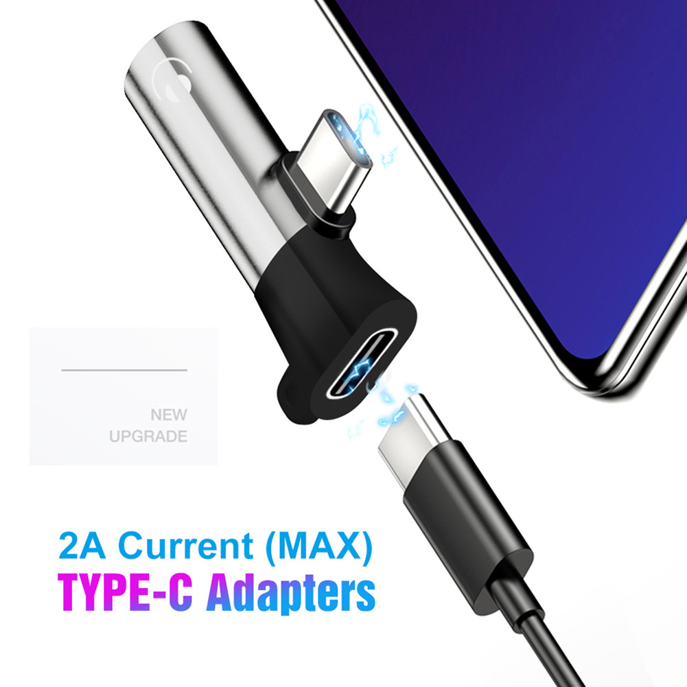 Newly Type C To 3.5mm Charger Earphone Cable Aux Audio Jack Adapter Converter With Keyring DC128