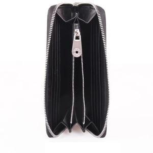 Image 3 - Brand Man Luxury Long Zipper Wallet Genuine Leather City Jogging Bags