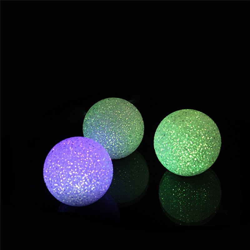 Crystal Ball Light Color Changing LED Night Light Home Lighting Colorful Atmosphere Lamp Children Gift Bedroom Decoration