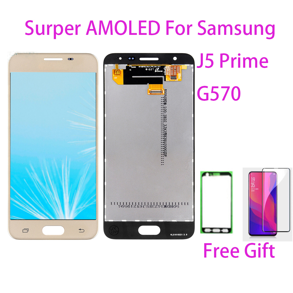 Test LCD Screen Für <font><b>Samsung</b></font> Galaxy <font><b>J5</b></font> <font><b>Prime</b></font> J5P G570 Touchscreen Digitizer LCD <font><b>Display</b></font> Für <font><b>Samsung</b></font> <font><b>J5</b></font> <font><b>Prime</b></font> J5P g570 G570F G570 image