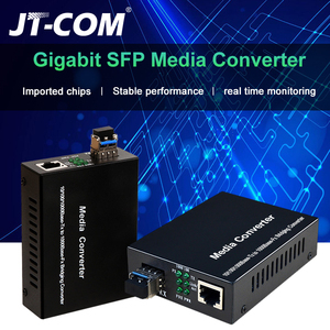 1Gb SFP Fiber to RJ45 Fiber Optic Media Converter 1000Mbps SFP Fiber Switch with SFP Module Compatible Cisco/Mikrotik/Huawei(China)
