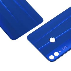 Image 2 - Оригинальная задняя крышка батарейного отсека для Huawei Honor 8X, стеклянный задний корпус Honor View 10 Lite, запасные части