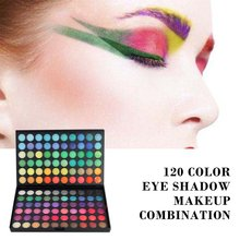 120 Color Eye Shadow Makeup Combination Disc Eye Shadow Stage Performance Studio Eye Shadow Makeup Tools
