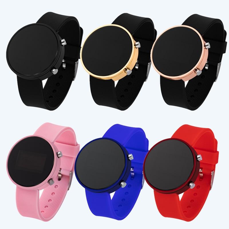 Новинка 2020, детские часы, спортивные наручные часы для детей, для мальчиков и девочек, высококачественные светодиодные часы, детские цифров...