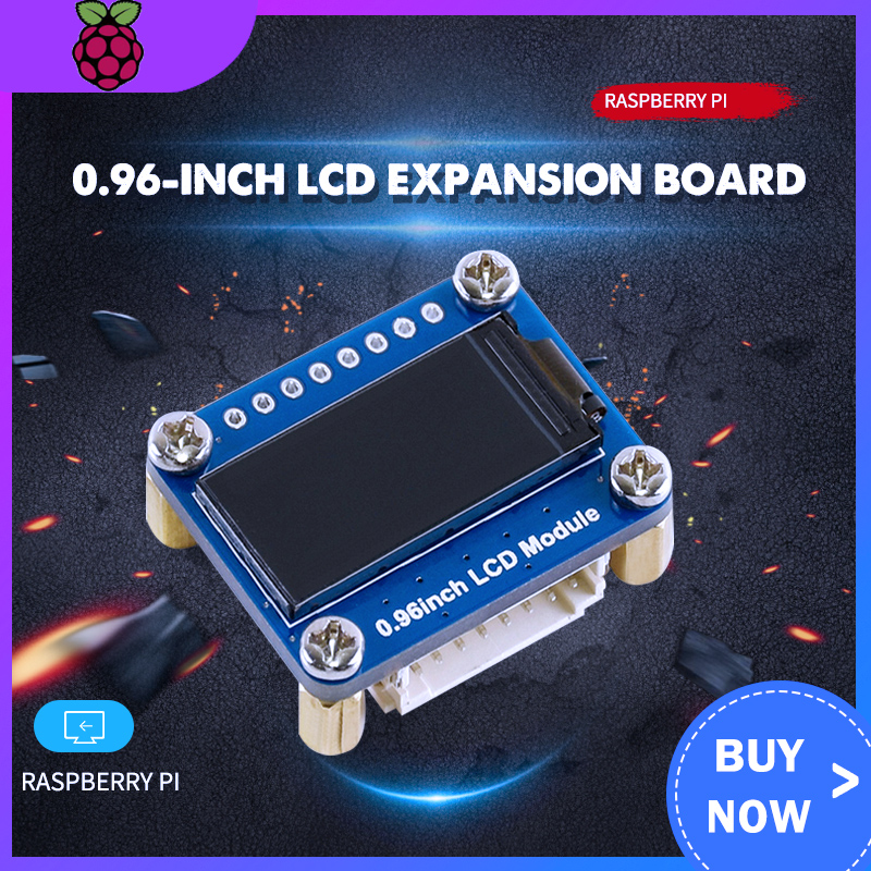 0.96-inch LCD Expansion Board IPS Screen Color LCD Compatible With Arduino Raspberry Pi