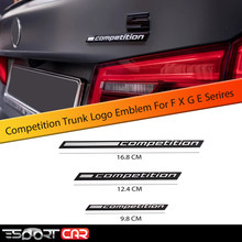 ESPORTCAR 3D COMPETIÇÃO ABS Emblema para Trovão Edição M1 M2 M3 M4 M5 M6 X1M X2M X3M X4M X5M X6M Tronco Do Emblema Etiqueta Do Carro