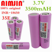 2021 NEW 1~20 PCS 100% Origin18650 35e 3500mAh 13A Discharge INR18650 35E 18650 Battery Li-ion 3.7v Rechargable Battery