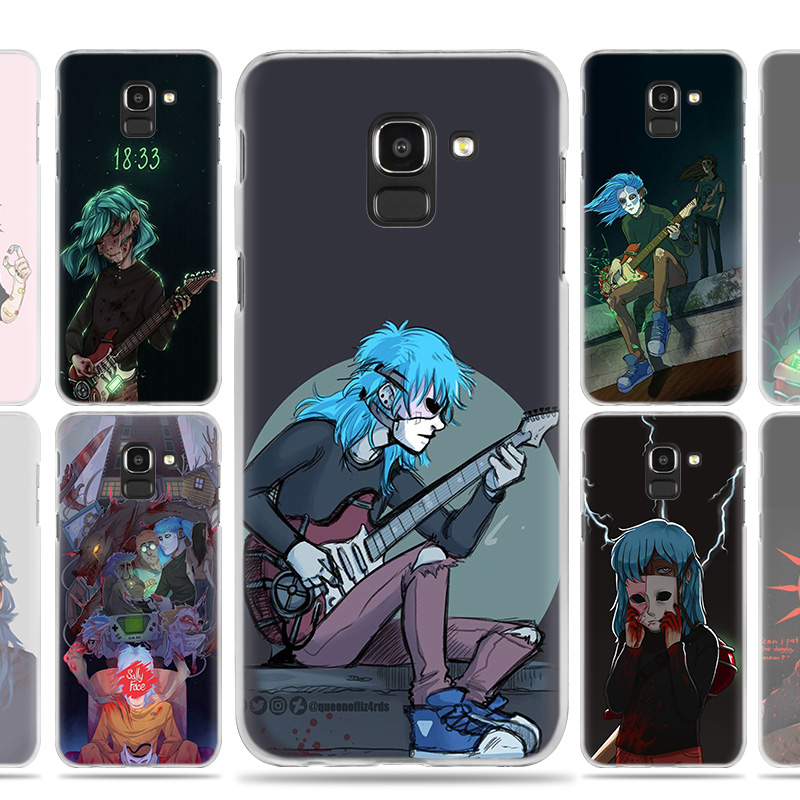Sally Face Game Case Cover for Samsung Galaxy A50 A80 A70 A60 A40 A30 A20 A20e A10 A9 A7 A6 Plus 2018 Note 8 9 10 Pro
