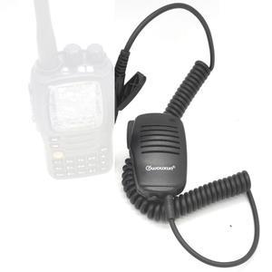 Image 4 - WOUXUN Original Microphone WOUXUN K1 Wired stereo PTT Speaker Microfono for KG UV9D plus KG UV6D KG UVD1P KG D900 Portable Radio