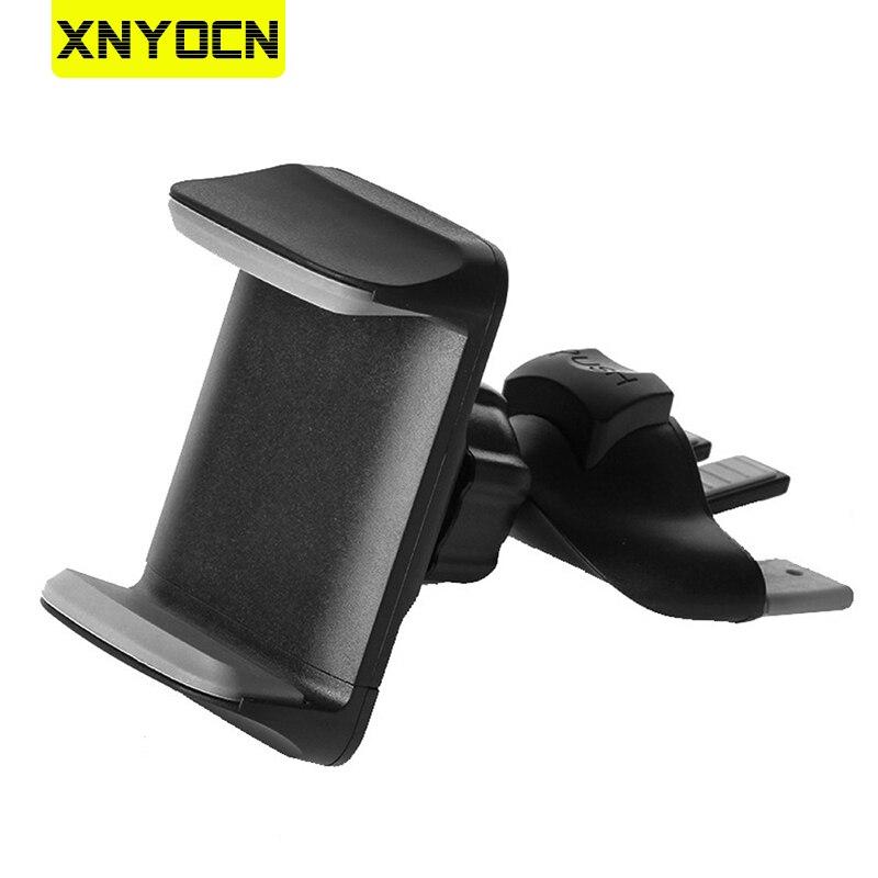 Универсальный автомобильный держатель для телефона CD слот подставка крепление 360 Вращение держатель для мобильного телефона Подставка для...