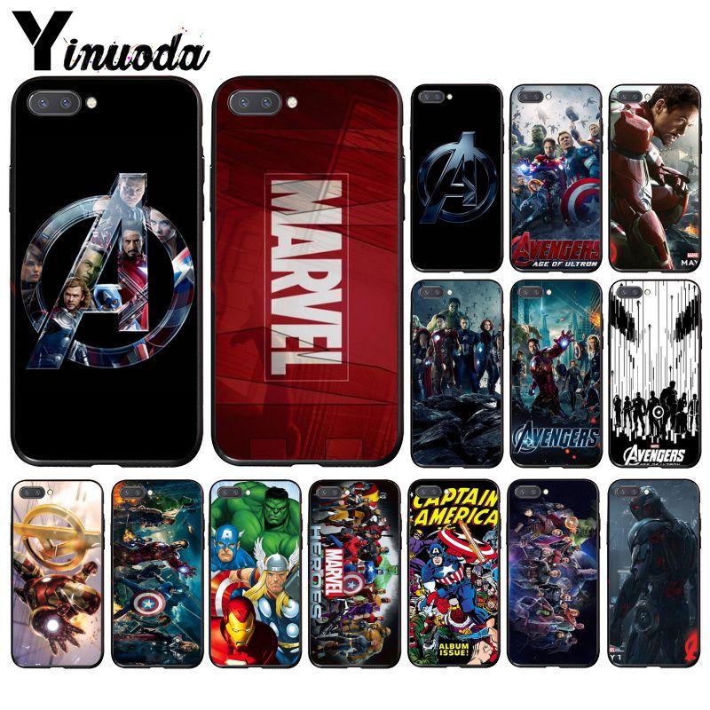 Yinuoda Marvel Superheroes Avenger   Phone Case For Huawei Honor 8X 9 10 20 Lite 7A 5A 7C 10i 20i View20