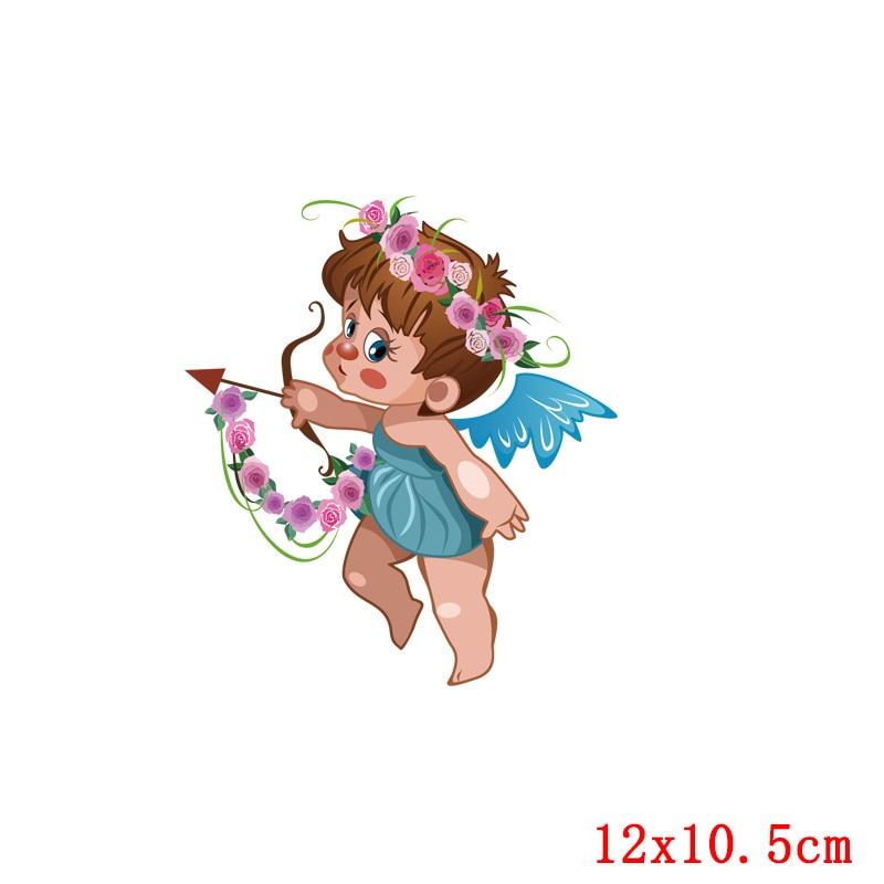 Prajna Красота Девушка глажка наклейки теплообмена винил патч термоутюг на передачу для одежды детская футболка Мультфильм аппликации - Цвет: Золотой