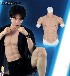 Мускулистый мускул, Мужская силиконовая искусственная грудь, мускулистый мускул, 2500 г, боди для мужчин, формирователь для сильного мужчины