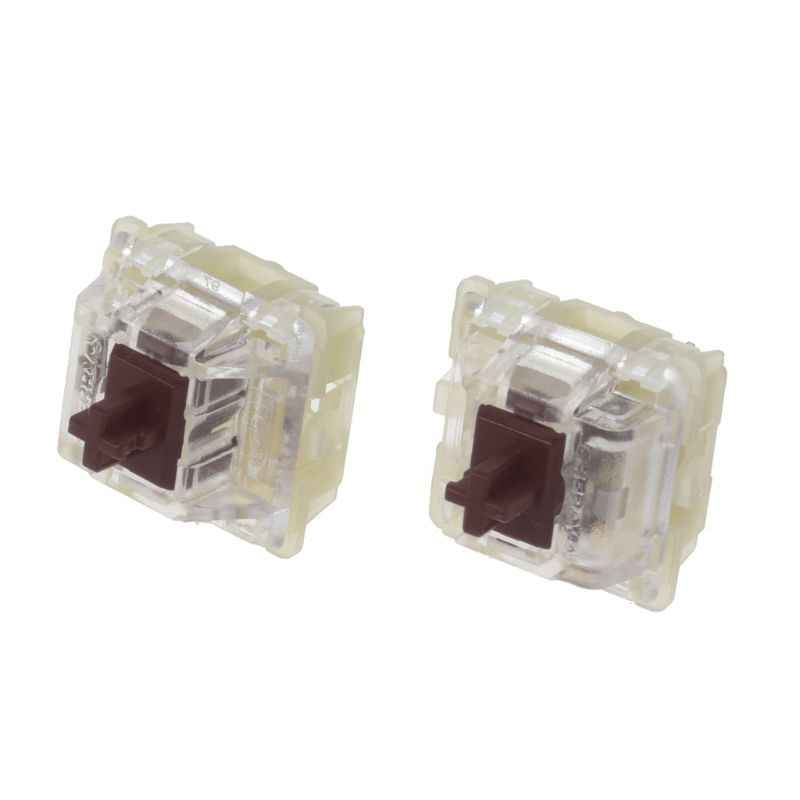 2Pcs Asli SMD RGB Cherry MX Switch 3pin Kaki Brown Switch Mechanical Keyboard Jelas Switch LX9A