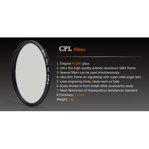 Image 2 - مستقطب CPL cpl من نايتكس استقطاب 49 52 55 58 62 67 72 77 فلتر عدسات لسوني كانون نيكون d5300 600d d3200 d5100 d3300