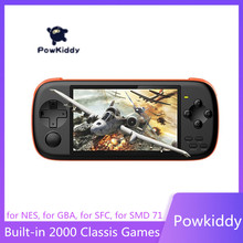 POWKIDDY J6 Handheld Game Console 4.3Inch IPS HD Screen 16GB TF Card Simulator Arcade MAME Built  In 2000+ Games Childrens Gift