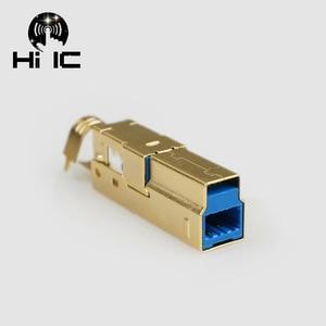 Image 5 - Tipo banhado a ouro tipo a b tipo c usb a usb b usb3.0 b mini usb mico conector usb jack cauda sockect conector porta sockect