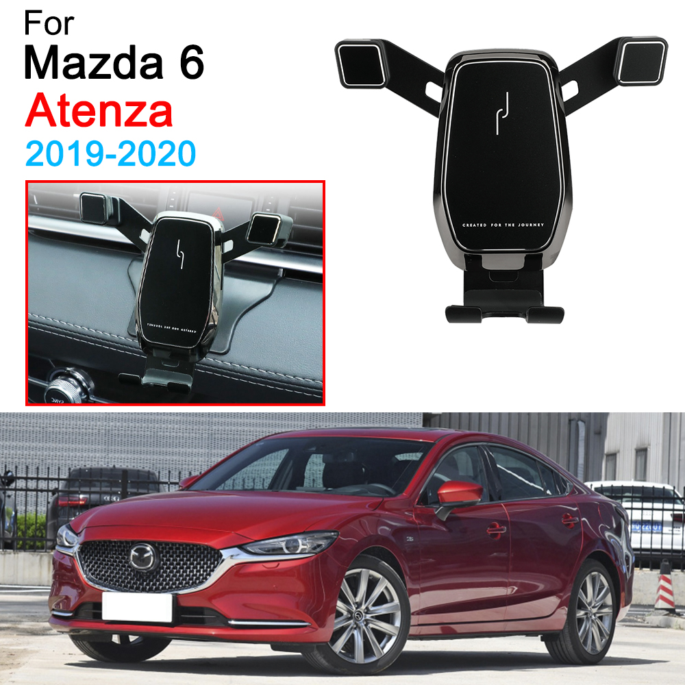 Car Phone Holder Air Vent Mount Clip Clamp Mobile Phone Holder Support for Mazda 6 Atenza Accessories 2019 2020