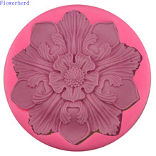 Chocolate Mold Silicone Cake-Decorating-Tools Flower Fondant DIY Liquid Petal Large Flexible