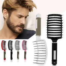 1Pcs Women Men Hair Scalp Massage Comb Fashion Wet Curly Detangle Hair Brush for Women Hairdressing Anti-static