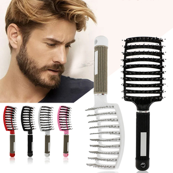 1Pcs Women Men Hair Scalp Massage Comb Fashion Wet Curly Detangle Brush for Hairdressing Anti-static - discount item  15% OFF Baby Care