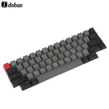 IDOBAO livraison gratuite haut imprimé blanc OEM PBT Keycaps profil cerise profil pour HHKB disposition MX commutateurs clavier mécanique