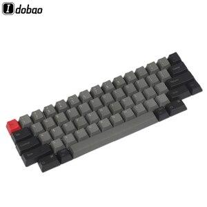 Image 1 - IDOBAO livraison gratuite haut imprimé blanc OEM PBT Keycaps profil cerise profil pour HHKB disposition MX commutateurs clavier mécanique