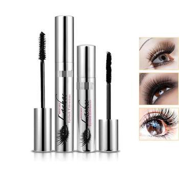 4D Anti-mascara Waterproof Lashes Fiber Black Ink Roll Eyelashes Plus Long Makeup Extension Mascara блуза lost ink plus lost ink plus lo035ewcbpd3