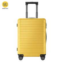 NINETYGO 90FUN Carry On Luggage 20 inch 4-wheel spinner Lightweight Hardshell PC Suitcase with TSA Lock for Travel Business