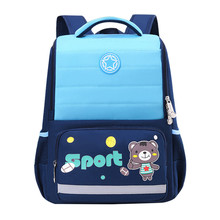 2020 NEW Waterproof nylon Orthopedic Children School Bags boys girls Cartoon Prints Kids School Backpacks Mochila Infantil
