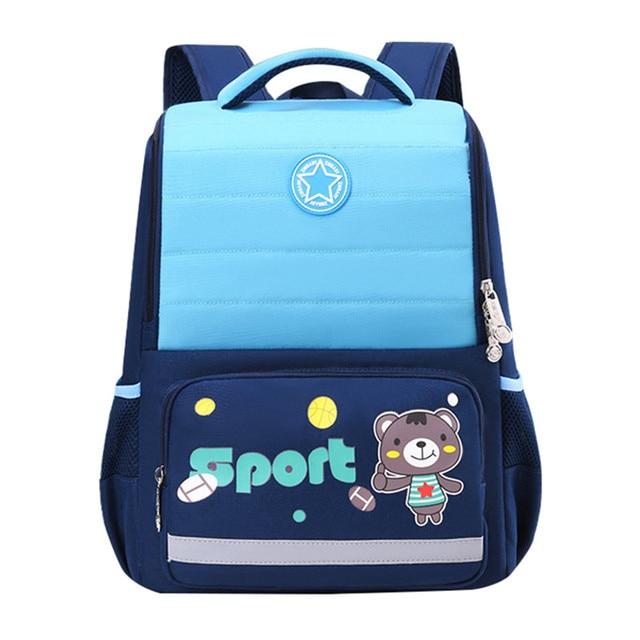 2020 NEW Waterproof nylon Orthopedic Children School Bags boys girls Cartoon Prints Kids School Backpacks Mochila Infantil
